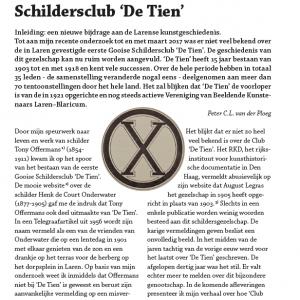 Schildersclub 'De Tien'