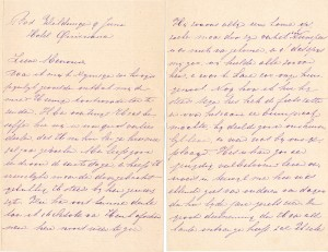 1905-06-09, brief hr. Snoeck, uit Bad Willingen