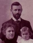 Wien met dochter Karla en Karel Lotsij