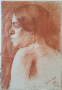 Portret vrouw Paris