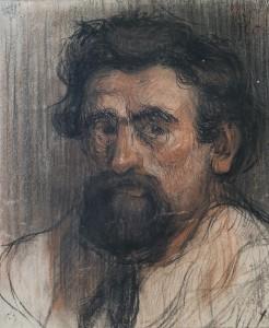 Zelfportret,1895