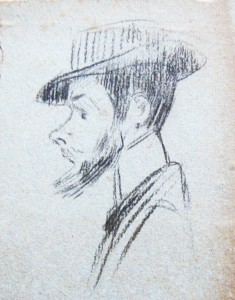 Zelfportret karikatuur