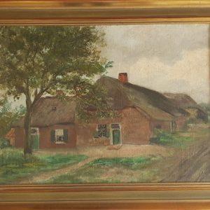 Te koop: schilderij met boerenhoeve